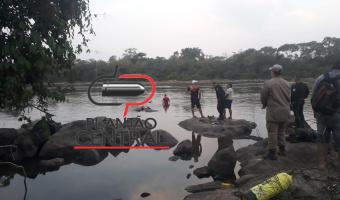 Tragédia! Irmãos sem saber nadar morrem afogados e são encontrados abraçados pelo Corpo de Bombeiros