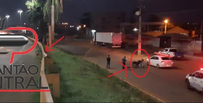 Motociclista morre após ser colidido por veículo que invadiu contramão na BR 364 em Cacoal