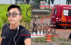 Tragédia! Imagens fortes, Jovem morre ao ter tórax e cabeça esmagada por caminhão boiadeiro