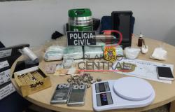 Em Operação Horus, Polícia Cívil e Polícia Militar prende traficante que se passava por montador de móveis em Nova Mamoré