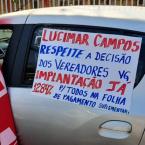 Prefeita Lucimar Campos(DEM) tenta barrar manifestação dos servidores públicos