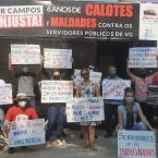 Carreata dos Servidores públicos em VG denuncia os descasos da Administração de Lucimar