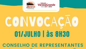 Convocação - Conselho de Representantes Redes Estadual e Municipal