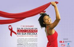 Dia Mundial de Combate a AIDS - Vamos aderir a Campanha do Laço Vermelho