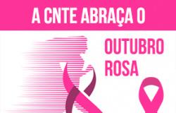 Profissionais da educação unidos na campanha mundial contra o câncer de mama
