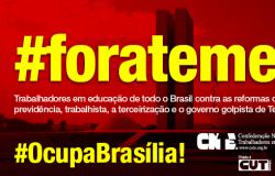 CNTE Informa 788: Vamos Ocupar Brasília e Exigir Diretas Já!