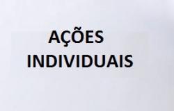 AÇÕES INDIVIDUAIS
