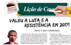 BOLETIM DE FEVEREIRO 2018