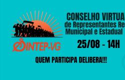 Sintep/VG convoca Conselho de Representantes