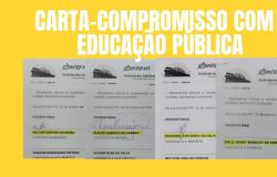 CONFIRA O TEOR DA CARTA-COMPROMISSO COM A EDUCAÇÃO PÚBLICA