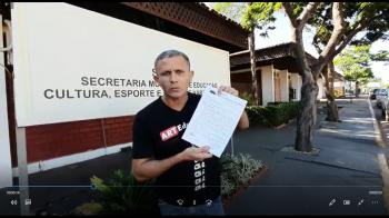 Sintep/VG cobra a suspensão das atividades presenciais na Rede Municipal de Ensino