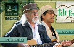 Projeto Folk Pantanal traz João Ormond, Divino Albués e Zé Geraldo ao Teatro Zulmira Canavarros