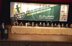 Fórum internacional em Cuiabá debate a ressocialização de reeducandos