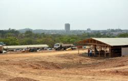 Obras do novo Pronto Socorro de Cuiabá avançam com fim da adequação da área