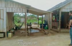 Polícia encontra nove corpos em local de chacina em assentamento de Colniza