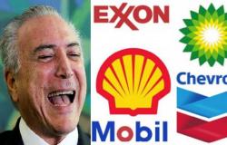 Temer abre mão de R$ 1 tri em impostos para agradar petroleiras