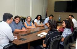 Artistas de Cuiabá levam propostas a Emanuel Pinheiro