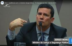 Moro mostra nervosismo e se contradiz em depoimentos na CCJ do Senado