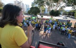 Fracassa manifestação em favor de Moro e Bolsonaro em Cuiabá