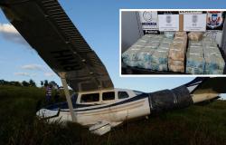Avião com R$4,6 milhões pousa em MT e polícia detém piloto italiano