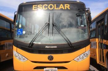 Os municípios recebem mais um recurso para o transporte escolar - Foto por: Assessoria