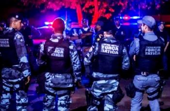 Ação da Força Tática da PMMT na capital: combate a criminalidade em operações inopinadas devem ser mais frequentes (Fotos:Arq.Web/PMMT)