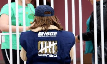 Oportunidade de emprego de recenseador do IBGE