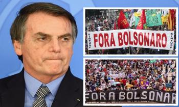 """As massas dizem """"Fora Bolsonaro"""" e preparam pedido de impeachment (Fotos:Arq.Web)"""