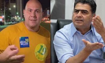 Abílio Junior (Pode) e Emanuel Pinheiro (MDB): escolha é fácil para eleitor, basta olhar o comportamento e o curriculo de cada um, dizem analistas (Fotos:Arq.Web/Reprodução)s
