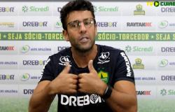 Direção do CEC coloca técnico Alberto Valentim na mira após saída da Copa do Brasil