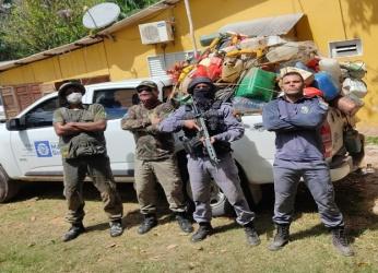 Operação da Sema-MT retira mais de meia tonelada de cevas fixas do Rio Cuiabá