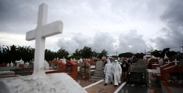 Covid 19 já tirou a vida de mais de 411 mil brasileiros, foram 2.966 mortos em apenas 24 horas