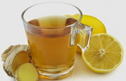 Chá de limão e gengibre – Auxilia na perda de peso e tem efeito detox