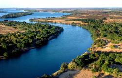 Inicio das Aguas da Transposicão do São Francisco - Município de Caiçara - PE