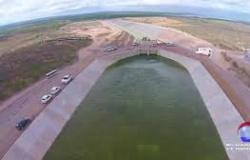 Transposicão do São Francisco -  Reservatório de Petrolina - PE