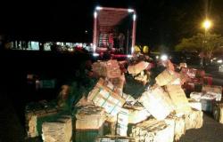 Caminhoneiro de MT é preso com três toneladas de maconha em SP