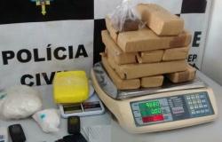 Polícia Civil apreende 12 quilos de maconha em Cuiabá
