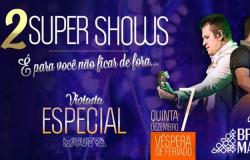 Quinta-feira véspera de feriado Cuiabá recebe um super show,Bruno e Marrone