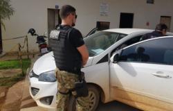 PC apreende carro usado em fuga de assassinos de prefeito
