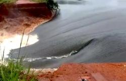Água invade fazenda da Bom Futuro após rompimento de barragem em MT e causa prejuízos