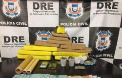 Polícia Civil apreende tabletes de maconha com traficante