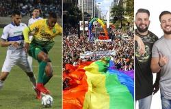 Parada da Diversidade, Final da Série C e Grupo Fissura são algumas das atrações para o final de semana