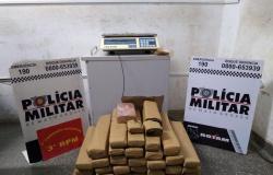 Ação conjunta da PM apreende mais de 30 kg de droga em Cuiabá