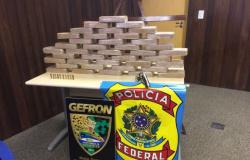 PF, PM e Gefron prendem três e apreendem cocaína na região de fronteira