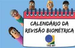 TRE-MT aprova calendário para iniciar revisão biométrica em 13 municípios do Estado