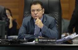 Botelho critica colegas faltosos e diz que cortará V.I. de R$ 65 mil
