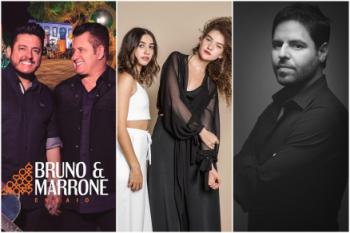 Fim de semana tem Bruno & Marrone, Ana Vitória e baladas
