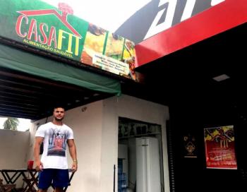 Fisiculturista começa a cozinhar para própria dieta e investe em loja de marmitas fit