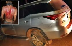 Vídeo mostra suposta agressão de sequestrador de padre em VG