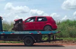 Morre bebê de 1 ano que ficou ferido em acidente envolvendo três veículos